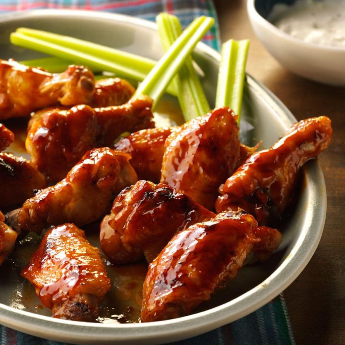 Inspired by: Honey BBQ Wings