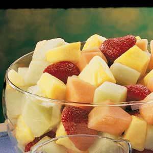 Melon Fruit Bowl