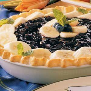 Banana Blueberry Pie
