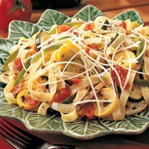 Summer Squash Pasta Primavera