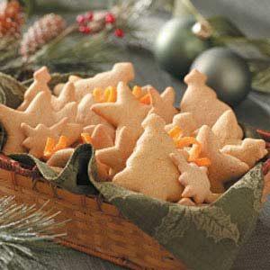 Chewy Tangerine Cookies