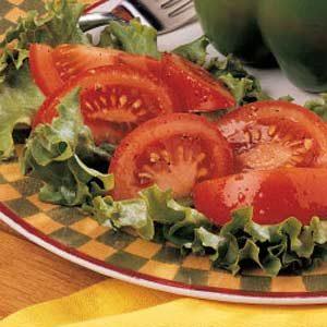 Tomatoes with Vinaigrette
