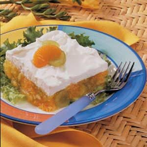 Fruited Lemon Gelatin Salad