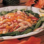 Warm Apricot Chicken Salad