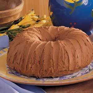 Chocolate Potato Cake with Mocha Frosting