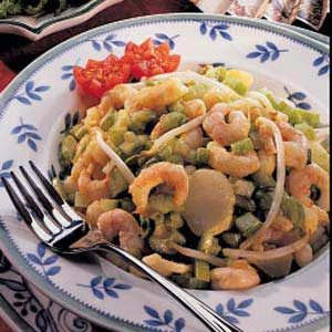 Polynesian Shrimp Salad