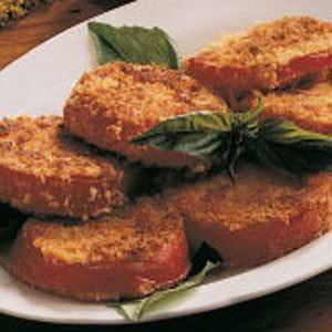 Crumb-Coated Tomatoes