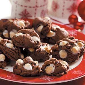 Cocoa Surprise Cookies