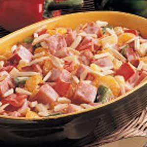 Hot Ham Salad