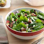 Spinach, Apple & Pecan Salad