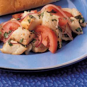 Bread and Tomato Salad