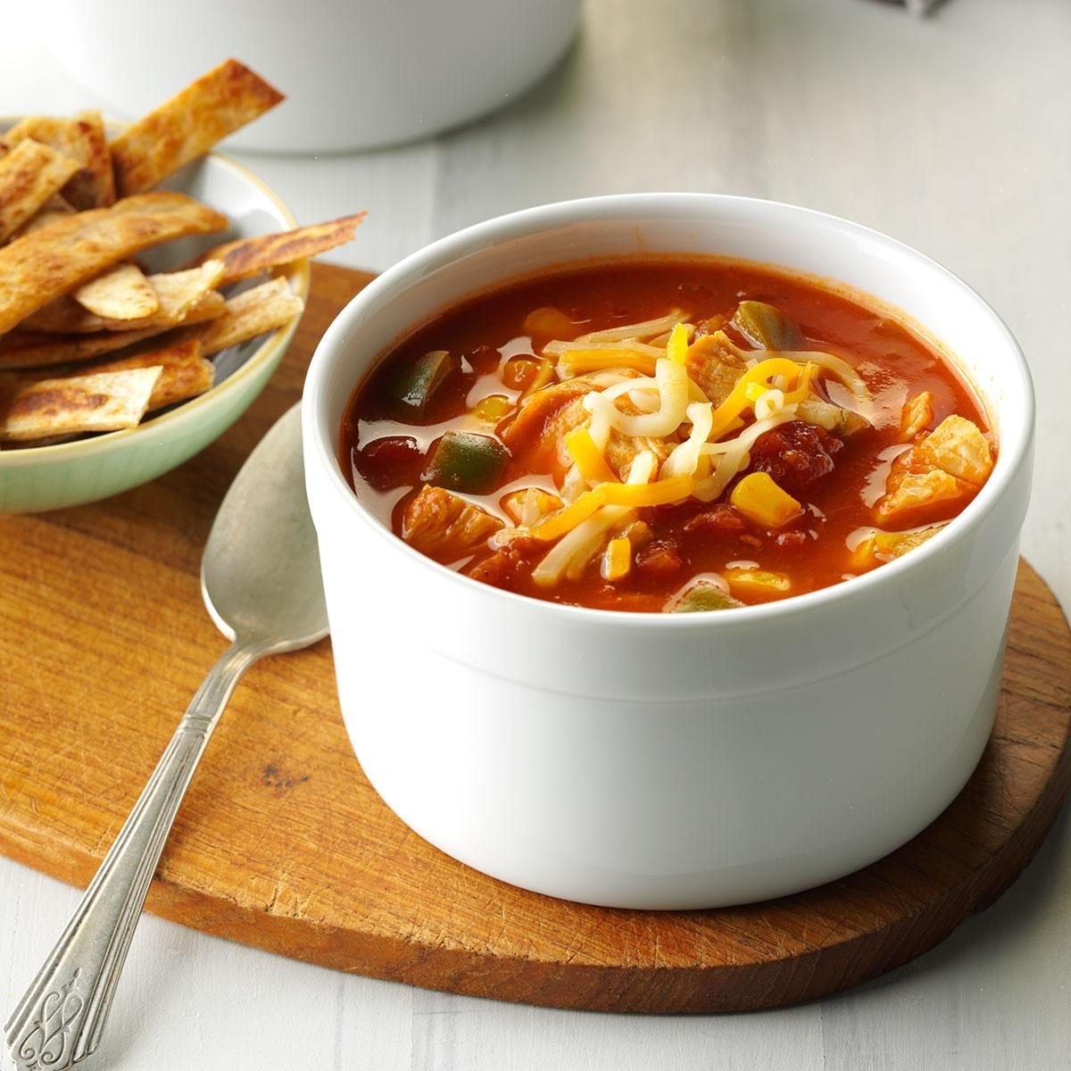 Inspired by: The Cheesecake Factory Spicy Tortilla Soup