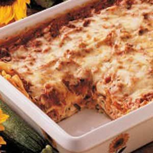 Where's the Squash Lasagna