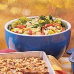 Bacon Blue Cheese Artichoke Tossed Salad