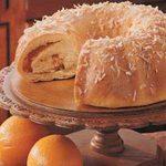 Orange Swirl Coffee Cake