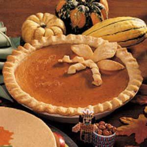 Honey Pumpkin Pie