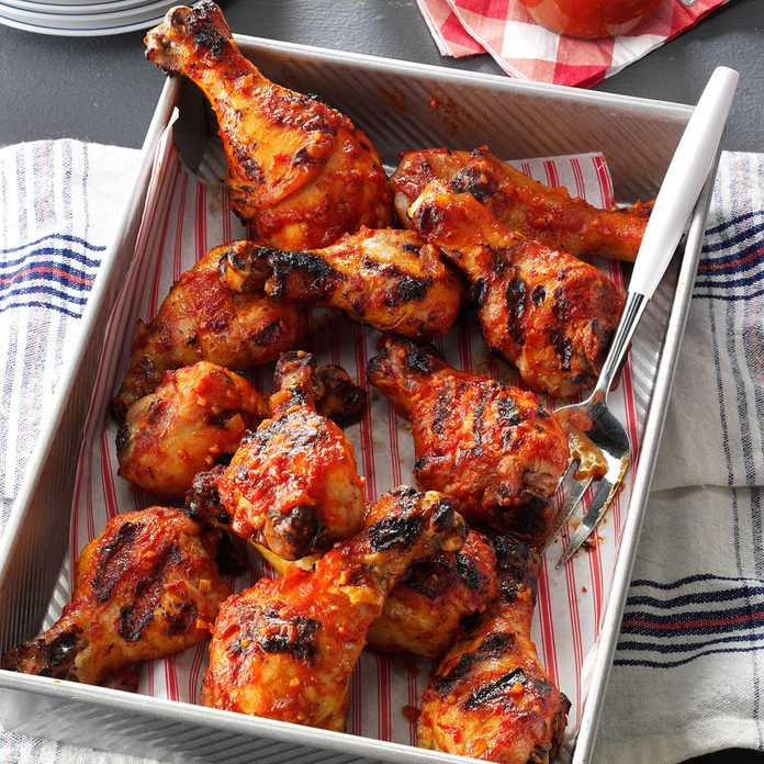Sweet & Tangy Barbecued Chicken
