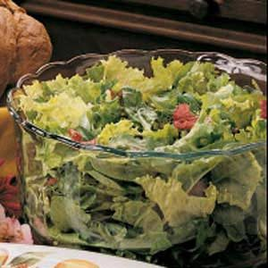 Greens with Citrus Dressing