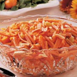 Almond-Topped Carrots