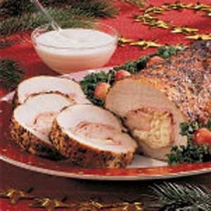Cheese-Stuffed Pork Roast