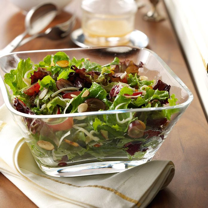 Tequila Vinaigrette with Greens