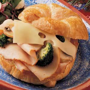 Turkey Divan Croissants