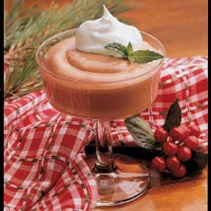 Minty Cocoa Mousse