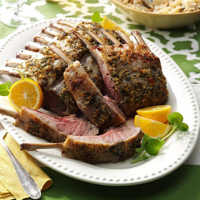 Mediterranean Rack of Lamb