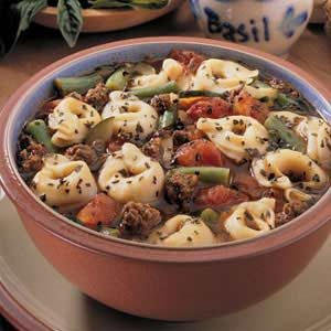 French Onion Tortellini Soup