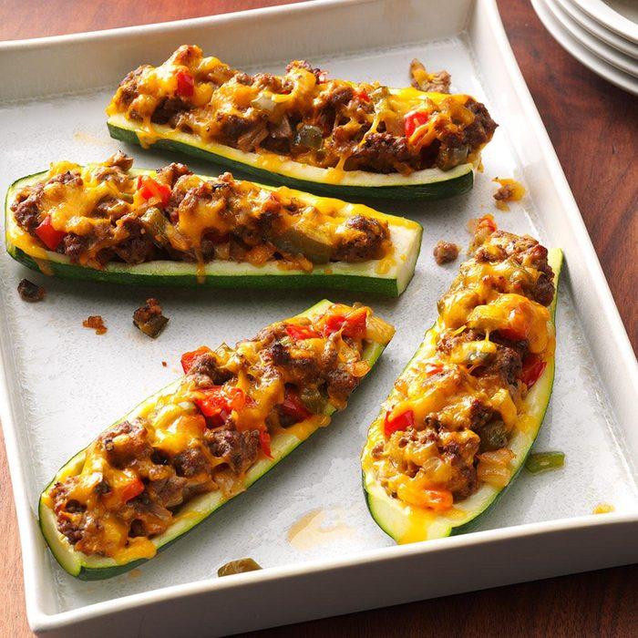 Thursday: Zucchini Boats