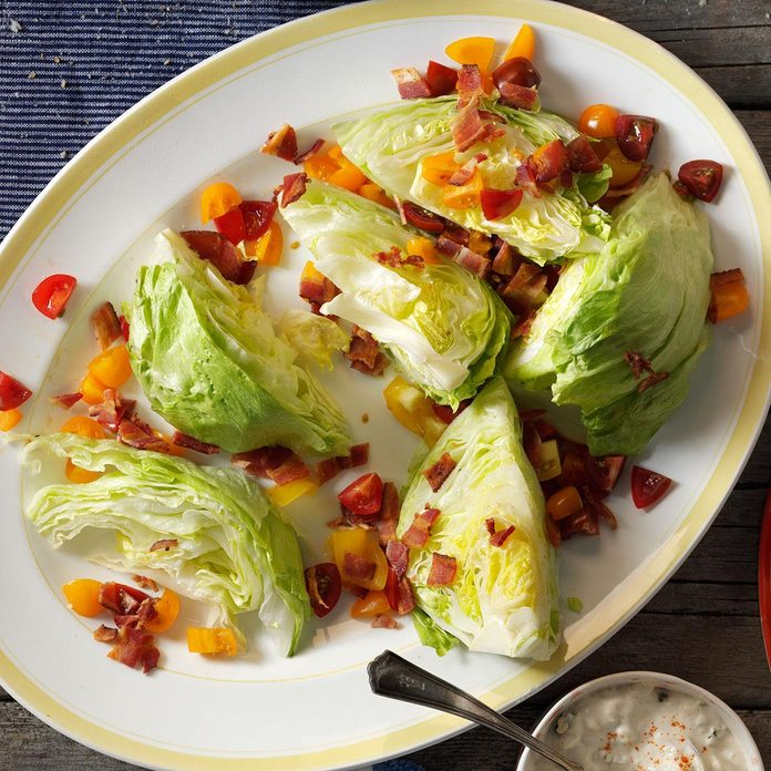 Inspired by: Classic Wedge Salad