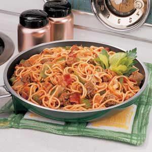 Spaghetti Supreme