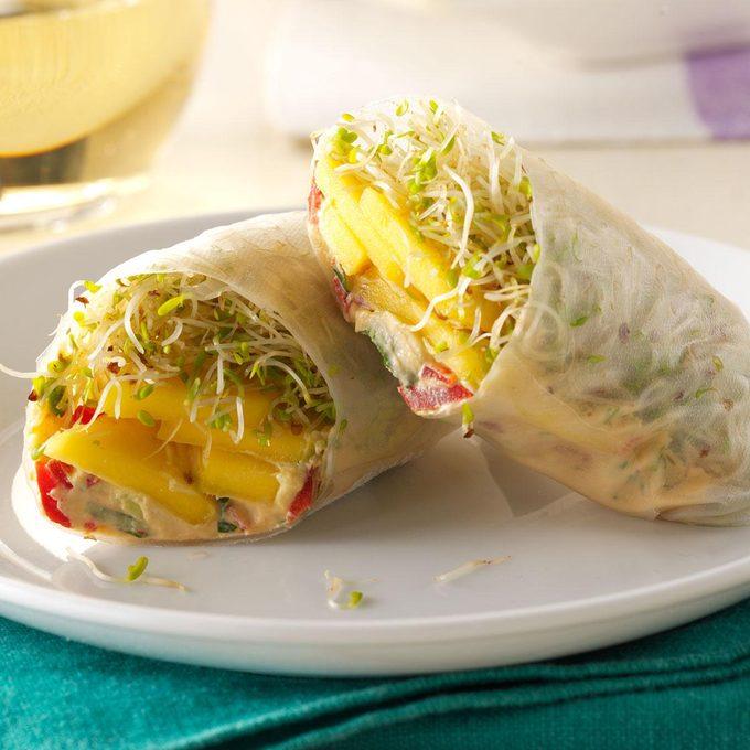 Mango Avocado Spring Rolls