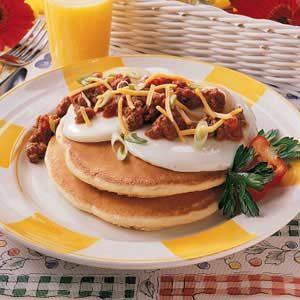 Enchilada Pancakes