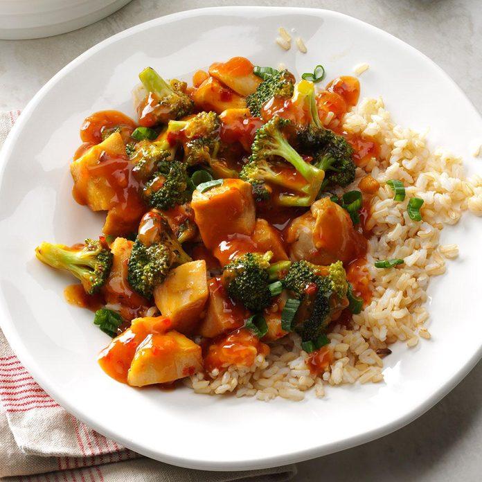 Quick Chicken & Broccoli Stir-Fry