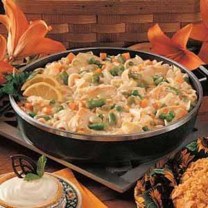 Hearty Turkey Noodle Stew
