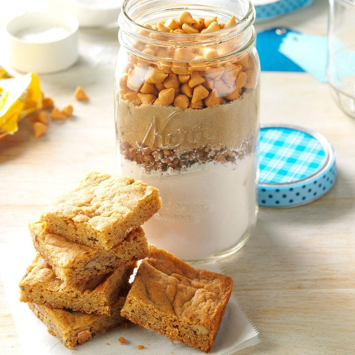Inspired by: Butterscotch Blondies