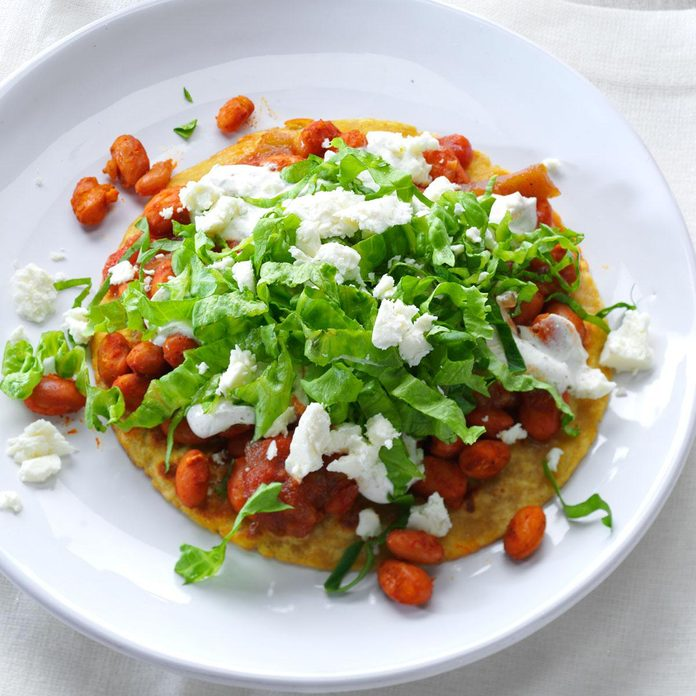 Day 15: Pinto Bean Tostadas