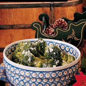 Broccoli in Herbed Butter