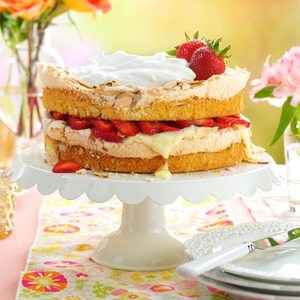 Strawberry Blitz Torte