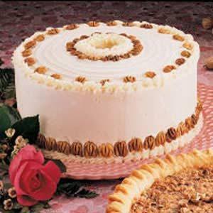 Chiffon Nut Cake