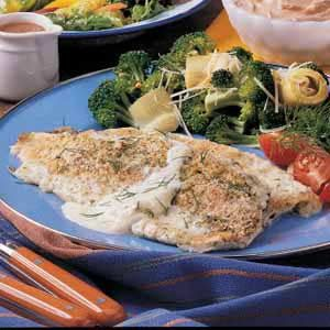 Trout Baked in Cream
