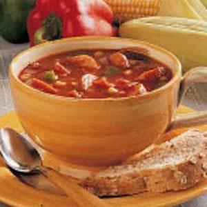 Corn and Sausage Soup