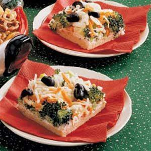 Veggie Party Pizza