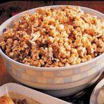 Nutty Toffee Popcorn