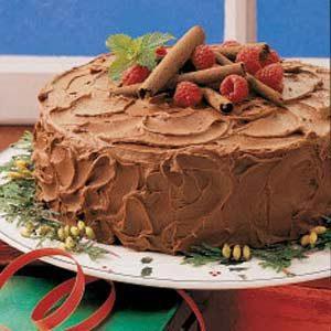 Chocolate Cake with Sour Cream