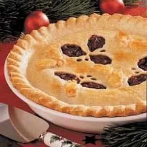 Cranberry Raisin Pie