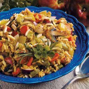 Patchwork Rice Pilaf