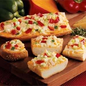 Chicken French Bread Pizza