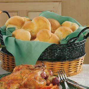 Fluffy Potato Rolls